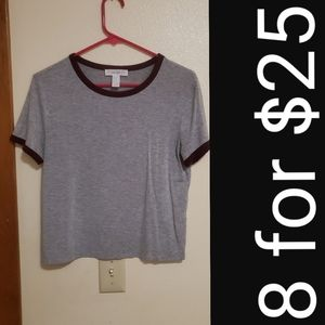 Forever21 gray tank top